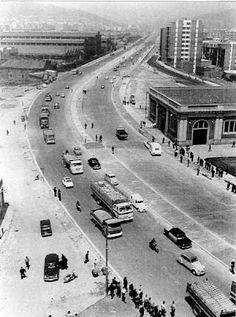La Meridiana, Barcelona, años 60