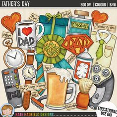 Father's Day (Educational Use version) by Kate Hadfield