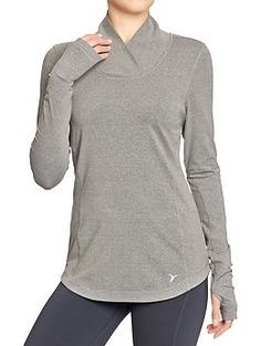 Womens Active by Old Navy Running Tops. Even though I hate running in long sleeves, even when it's freezing outside.