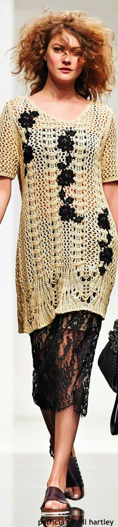 67b2f34b25ec Simona Barbieri - Twin Set S S 2015 RTW women fashion outfit clothing style  apparel closet ideas