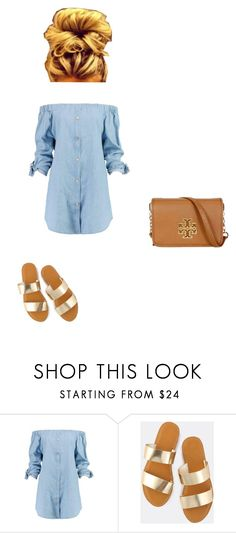 """Going to the dentist this morning to get checked because I think I have a dry socket😩"" by nycityprincess ❤ liked on Polyvore featuring Boohoo and Tory Burch"
