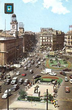 Puerta del Sol, 1970