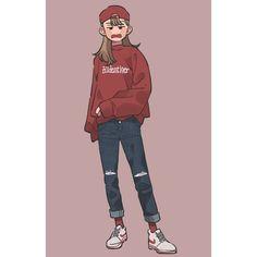 빨강  #red #빨강 #그림 #그림스타그램 #illust #illustagram #일러스타그램 #일러스트 #art #artwork #daily #fashion #drawing #draw #드로잉스타그램 #드로잉 #photoshop #cg Cool Art Drawings, Kawaii Drawings, Art Sketches, Cute Art Styles, Cartoon Art Styles, Character Art, Character Design, Art Reference Poses, Horror Art