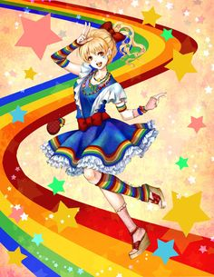 Harajuku Rainbow Brite by ~jurithedreamer on deviantART