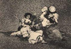 Disasters of War. Goya. (etching)