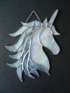 New Stained glass Unicorn suncatcher magical horse fairytale collectable gift in Collectables, Fantasy/Myth/Magic, Mythical Creatures, Unicorns | eBay