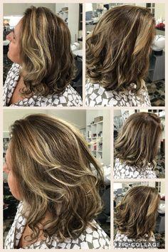 """Técnica hair contour ! Valoriza os diferentes formatos de rosto. O segredo é o jogo de luz e sombra, mesclando fios claros e escuros. """"Todo cabelo precisa de um fundo e pontos de iluminação, isso é o que faz essa técnica ser tão bacana"""". By Léia Calixto"""