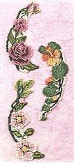 FREE Cross Stitch: Flowers Arched