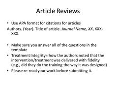 Writing A Summary On An Article  Article Writing