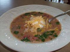 365 Days of Slow Cooking: White Cheddar Mexican Soup