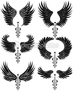 1000 ideas about caduceus tattoo on pinterest nurse tattoos - Gallery For Gt Medical Symbol Back Tattoo