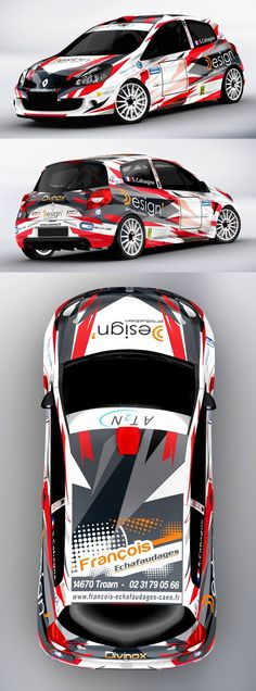 Renault Clio racing livery design. We collect and generate ideas: ufx.dk