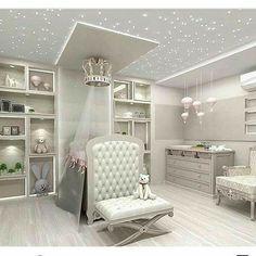 Baby Room Design, Room Design Bedroom, Baby Bedroom, Baby Room Decor, Bedroom Decor, Nursery Room, Girl Nursery, Luxury Nursery, Baby Furniture