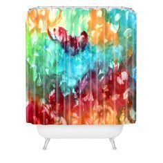 DENY Designs Constant Motion by Laura Trevey Shower Curtain & Reviews | Wayfair