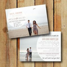 Wedding Save the Date Design