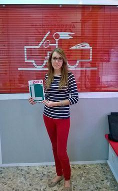 ¡Enhorabuena Marta, ya tienes tu premio!