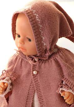 Tricotez une tunique pour votre poupée