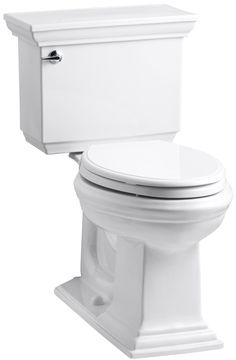 KOHLER Memoirs White WaterSense Elongated Chair Height Vitreous China Toilet Rough-In Size at Lowe's. The Memoirs Comfort Height GPF two-piece elongated toilet combines sensible ergonomics with sophisticated traditional style. The Classic design The One, Armoire, Kohler Memoirs, Kohler Toilet, Flush Toilet, Toilet Bowl, Chair Height, One Piece, Plumbing Fixtures