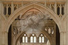 """Most of Gromley's work involves the human form. The most recent of his work I have stumbled upon is """"Flare II"""" on view at Salisbury Cathedral."""