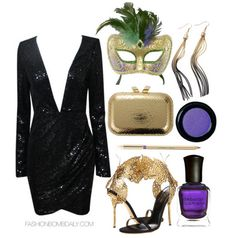 Winter 2014 Style Inspiration: What To Wear To A Mardi Gras or ...