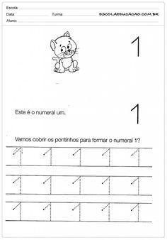 SUGESTÃO DE VÁRIAS ATIVIDADES ATÉ O NUMERO 5