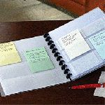 put your to do list on index cards - idea from Get Organized Magazine
