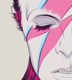 David Bowie by CranioDsgn , via Behance