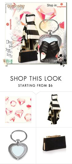"""""""SNAPMADE 27"""" by azrahadzic ❤ liked on Polyvore featuring La Mania, Jimmy Choo, Dolce&Gabbana, WALL, Valentino and snapmade"""
