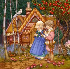 Hansel & Gretel by Carol Lawson
