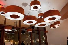lights made from 10 mil paperbacked padauk veneer. WiseWood Veneer
