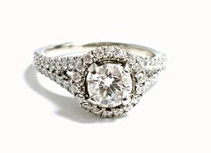Shane Co. Diamond Engagement Ring
