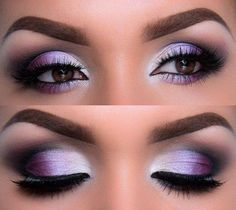 Best Eyeshadow For Blue Eyes, Redheads can be easily found but finding out right eye makeup tips for redheads can give you tough time. Gorgeous Makeup, Love Makeup, Makeup Inspo, Purple Makeup, Makeup Ideas, Purple Wedding Makeup, Makeup Tricks, Eyeshadow For Blue Eyes, Best Eyeshadow