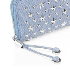 The Jimmy Choo Filipa purse detail