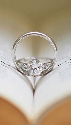Love this ring shot but use a bible