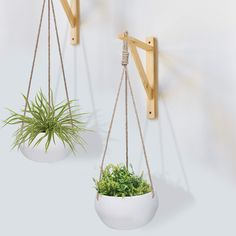 Hanging Planters, Planter Pots, Garden Deco, Art Deco Home, Plant Hanger, Diy Room Decor, Macrame, Sweet Home, House Styles