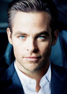 Chris Pine for the 'Armani Code' campaign