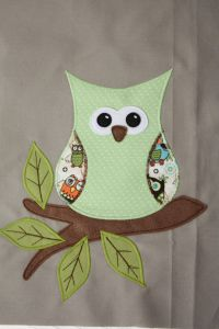 kostenlose Applikationsvorlage von Dinis Blog Eule free applique pattern owl