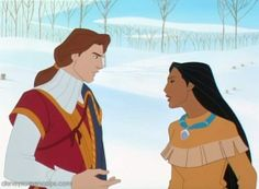John Rolfe and Pocahontas | Found on images5.fanpop.com