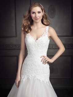 Ella Rosa Style BE349 #weddingdress #bridal