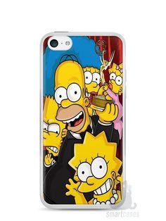 Capa Iphone 5C Família Simpsons #2 - SmartCases - Acessórios para celulares e tablets :)