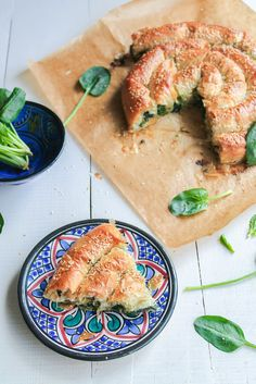 Burek aux épinards {vegan} - aime & mange