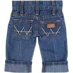 "Wrangler® All Around Baby™ Boy's ""W"" Pocket w/ Cowboy Applique Jeans  ~love these! soo cute!"