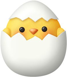 """Photo from album """"Hippity Hoppity"""" on Yandex. Happy Easter, Easter Bunny, Easter Chick, Easter Card, Easter Images Clip Art, Easter Clip Art, Easter Paintings, Cartoon Chicken, Chicken Art"""