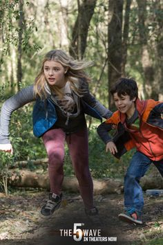 RUN! Will Cassie and Sam survive The 5th Wave? Find out in theaters now! (Psssst, get your tickets online by clicking through the pin.) #5thWaveMovie