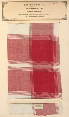 Indian textiles & Empire: John Forbes Watson - Victoria and Albert Museum