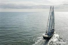 Greenpeace September 2011 Photo of the Month - the Rainbow Warrior undergoing sea trials
