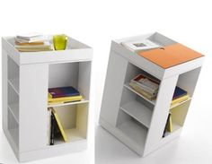 Box – Multifunction Storage Units By MDF Italy. bedsides?