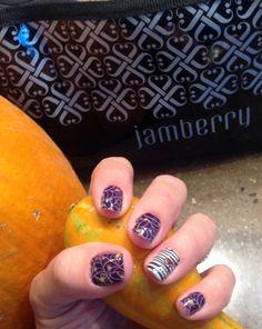 Jamberry Webtastic and Mummified  www.nicoleisjammin.jamberrynails.net