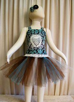 Adorable 3pc Tutu Dress Set - Reversible Tutu Set - Lace up Reversible Corset - Tutu - Headband - Fits size 2T through 4T    by cd1ofakind, $48.00