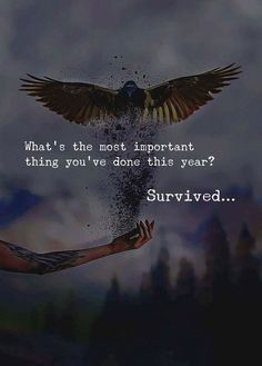 Yes I survived but with out anyone's support I was really amazed how I survived .. With all the pain I went through with my god grace and love I survived... love is different from all other things .. other things r ok but love is different.. I look forward positively 2018